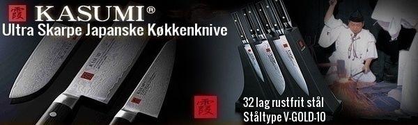 Kasumi Japanske Køkkenknive