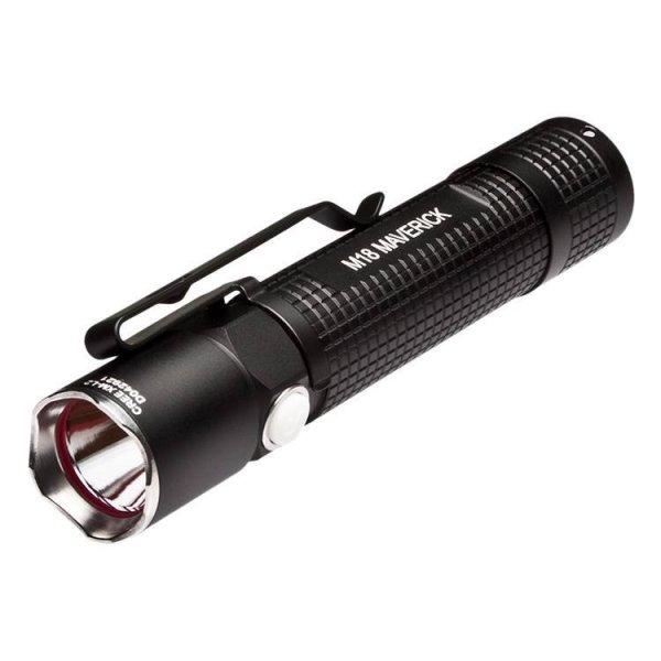 500 Lumen Taktisk LED lommelygte M18 fra Olight