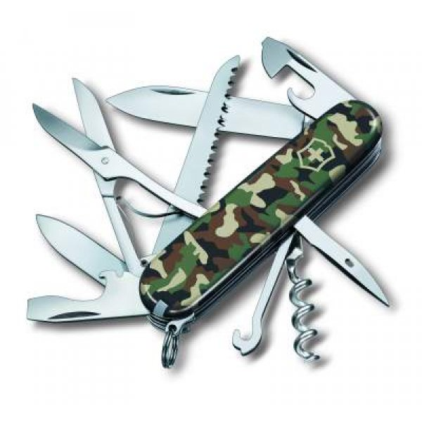 Visning af Lommekniven Huntsman Camouflage fra Victorinox