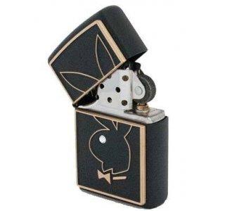 Zippo Playboy Benzin Lighter med Krystal