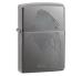 'Seductive Silhouette' Benzin Lighter fra Zippo