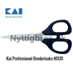 Kai N5135 Professionel Broderi Saks, 13 cm