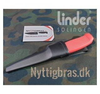 Fiskekniv AQUARIUS 2 fra Linder, Rød