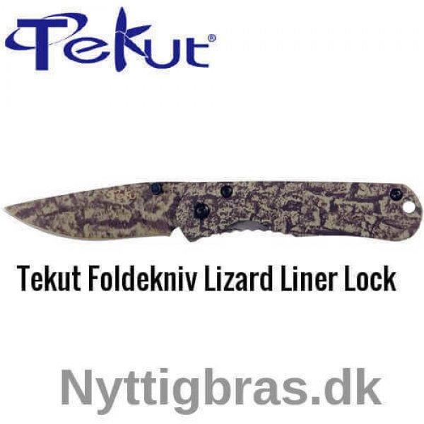 Foldekniv Lizard Liner Lock fra Tekut