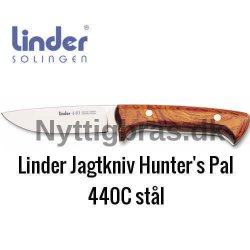 Linder Jagtkniv Hunter's Pal