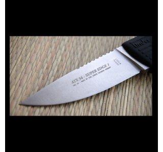 Jagtkniv ATS 34 Super Edge 1 fra Linder