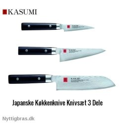 Kasumi Damaskus Knivsæt 3 Dele