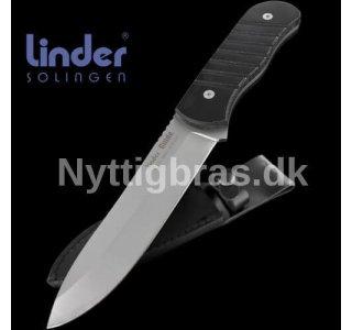 """Bushcraft Kniv """"GUIDE"""" fra Linder"""