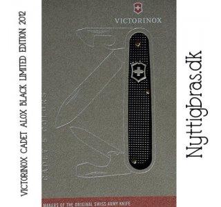 Alox Cadet Black Ltd. Ed. 2012 Lommekniv fra Victorinox