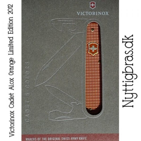 Victorinox Cadet Alox Orange Ltd. Ed.
