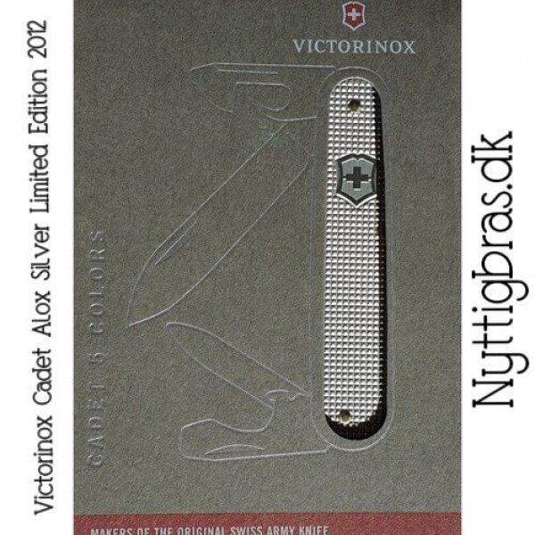 Schweizerkniv Cadet Alox Silver Limited Edition 2012 fra Victorinox