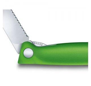 Victorinox Foldbar Skrællekniv, Grøn