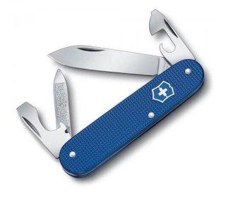 Visning af foldekniven Victorinox Cadet Alox Blå Limited Edition