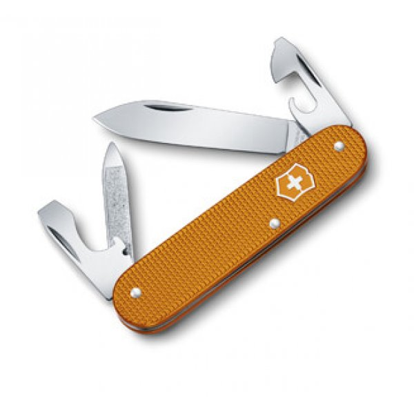 Victorinox Cadet Alox Orange Limited Edition m/læder etui