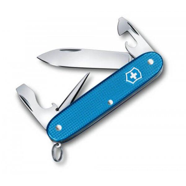 Schweizerkniv Pioneer Alox Aqua Blue Ltd. 2020