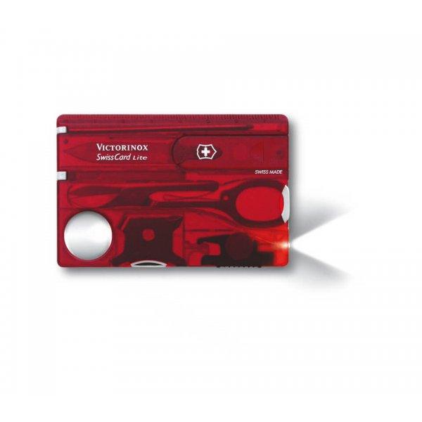 Victorinox Original SwissCard Lite, Red