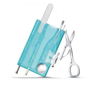 Swiss Card NailCare Transparent Ice Blue