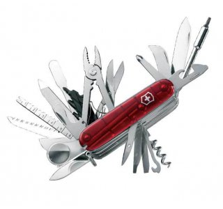Visning af den anden største schweizerkniv i hele verden Swiss Champ XLT Schweizerkniv