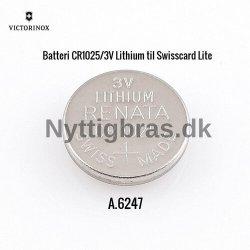 Ekstra Batteri CR1225/3V til Schweizerknive