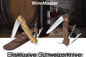 Wine Master. Innovativ og eksklusiv proptrækker!